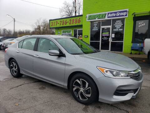 2017 Honda Accord for sale at Empire Auto Group in Indianapolis IN