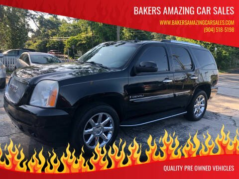 2008 GMC Yukon for sale at Bakers Amazing Car Sales in Jacksonville FL