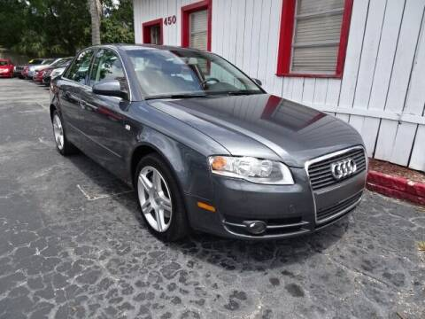 2007 Audi A4 for sale at DONNY MILLS AUTO SALES in Largo FL