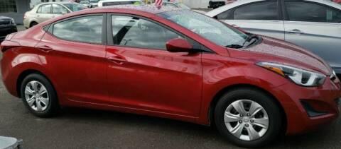 2016 Hyundai Elantra for sale at Artistic Auto Group, LLC in Kennewick WA