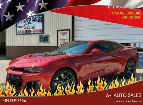 2017 Chevrolet Camaro for sale at A-1 AUTO SALES in Mansfield OH