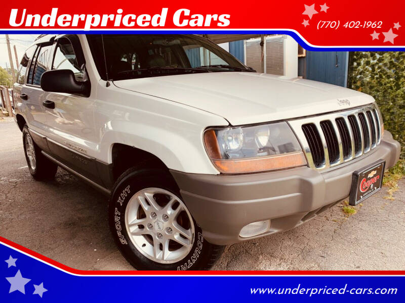 2000 Jeep Grand Cherokee for sale at Underpriced Cars in Marietta GA