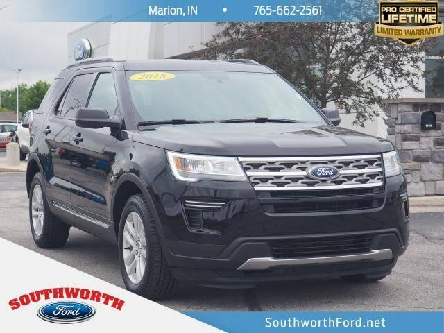 2018 Ford Explorer for sale in Marion, IN