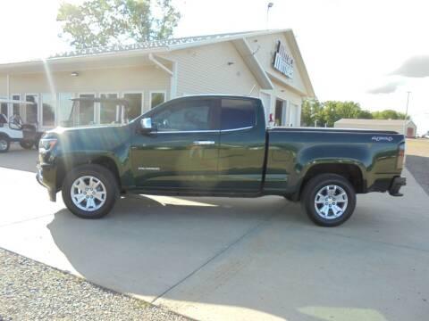 2015 Chevrolet Colorado for sale at Milaca Motors in Milaca MN