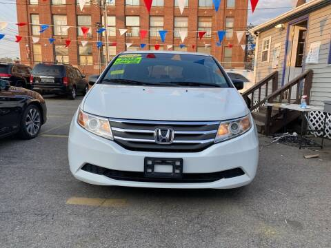 2012 Honda Odyssey for sale at Metro Auto Sales in Lawrence MA