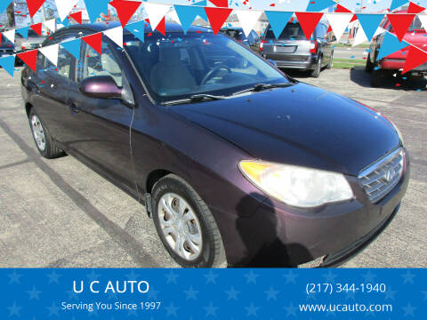 2009 Hyundai Elantra for sale at U C AUTO in Urbana IL