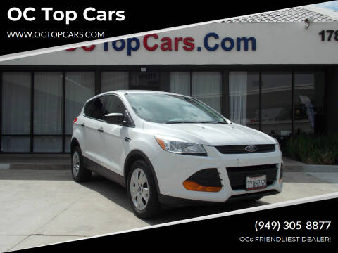 2015 Ford Escape for sale at OC Top Cars in Irvine CA