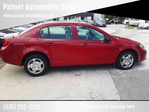 2008 Chevrolet Cobalt for sale at Palmer Automobile Sales in Decatur GA