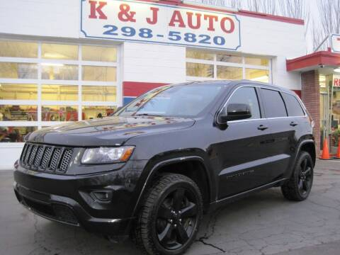 2015 Jeep Grand Cherokee for sale at K & J Auto Rent 2 Own in Bountiful UT