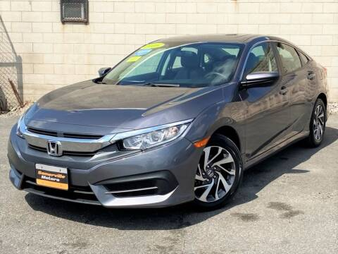 2016 Honda Civic for sale at Somerville Motors in Somerville MA