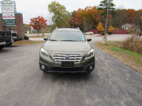 2016 Subaru Outback for sale at Heritage Truck and Auto Inc. in Londonderry NH