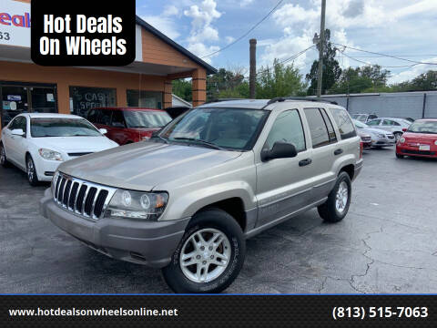 2003 Jeep Grand Cherokee for sale at Hot Deals On Wheels in Tampa FL