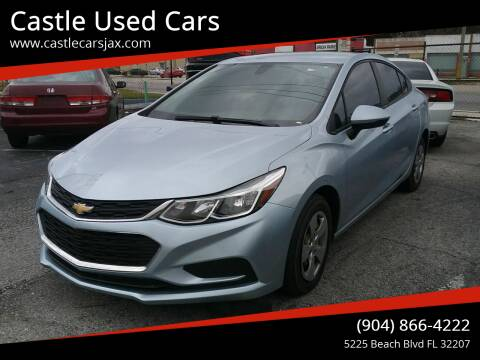 2018 Chevrolet Cruze for sale at Castle Used Cars in Jacksonville FL