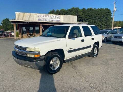 2003 Chevrolet Tahoe for sale at Greenbrier Auto Sales in Greenbrier AR