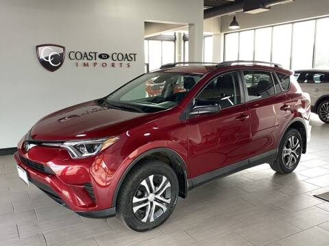 2018 Toyota RAV4 for sale at Coast to Coast Imports in Fishers IN