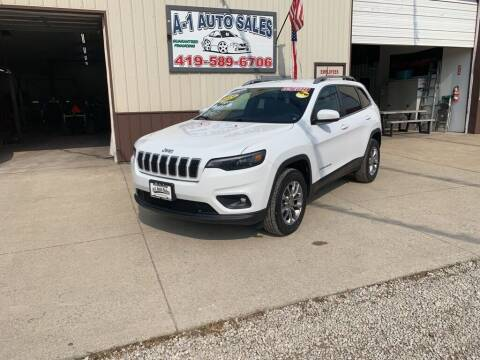 2019 Jeep Cherokee for sale at A-1 AUTO SALES in Mansfield OH