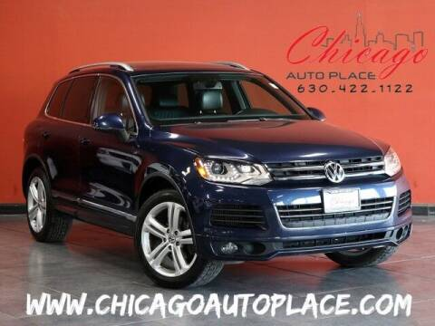 2014 Volkswagen Touareg for sale at Chicago Auto Place in Bensenville IL