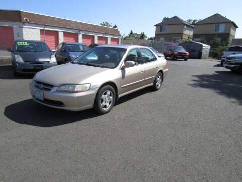 2000 Honda Accord for sale at ARISTA CAR COMPANY LLC in Portland OR