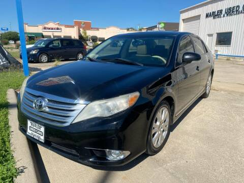 2012 Toyota Avalon for sale at MARLER USED CARS in Gainesville TX