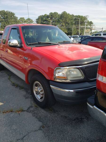2000 Ford F-150 for sale at M B & D AUTO in Virginia Beach VA