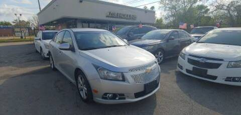 2014 Chevrolet Cruze for sale at J.G. Hollins Motors in Houston TX
