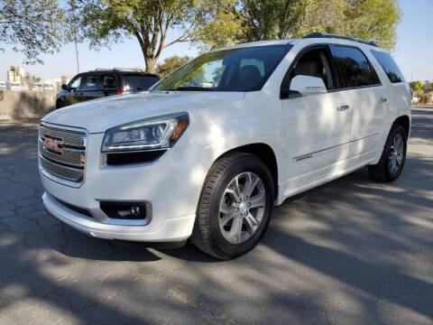 2013 GMC Acadia for sale at Matador Motors in Sacramento CA