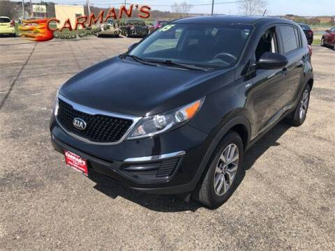 2015 Kia Sportage for sale at Carmans Used Cars & Trucks in Jackson OH