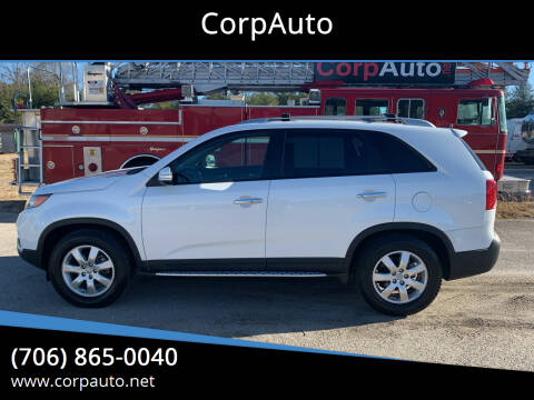2012 Kia Sorento for sale at CorpAuto in Cleveland GA