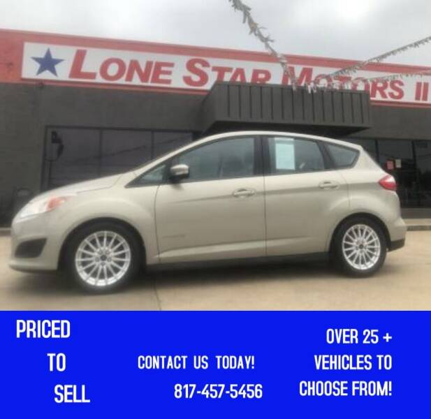 2015 Ford C-MAX Hybrid for sale at LONE STAR MOTORS II in Fort Worth TX
