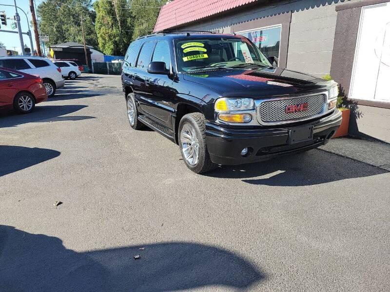 2004 GMC Yukon for sale at Bonney Lake Used Cars in Puyallup WA
