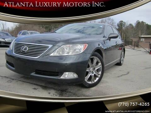 2008 Lexus LS 460 for sale at Atlanta Luxury Motors Inc. in Buford GA