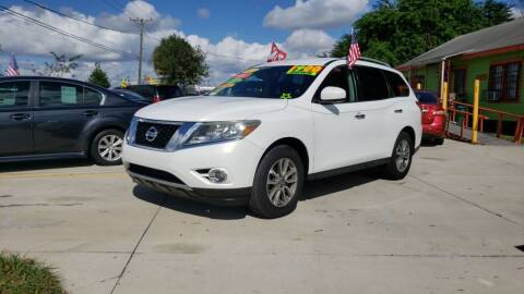 2013 Nissan Pathfinder for sale at GP Auto Connection Group in Haines City FL