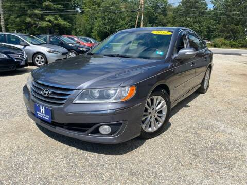 2011 Hyundai Azera for sale at Hornes Auto Sales LLC in Epping NH