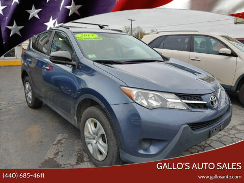 2014 Toyota RAV4 for sale at Gallo's Auto Sales in North Bloomfield OH