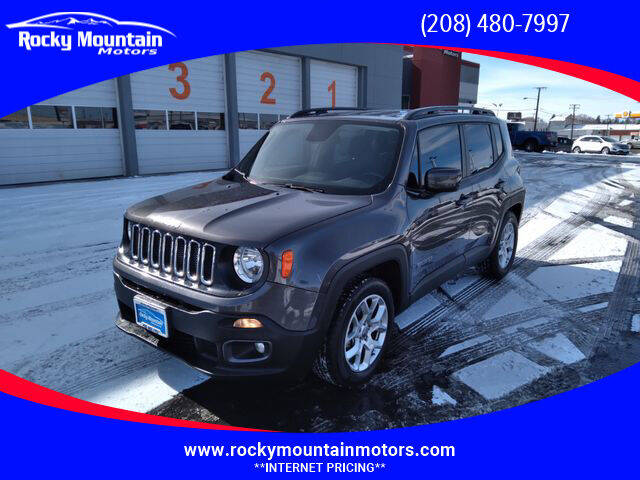 2018 Jeep Renegade for sale at Rocky Mountain Motors in Idaho Falls ID