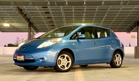 2012 Nissan LEAF for sale at Car Hero LLC in Santa Clara CA