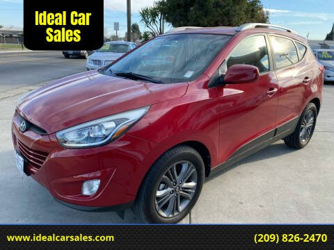 2015 Hyundai Tucson for sale at Ideal Car Sales in Los Banos CA
