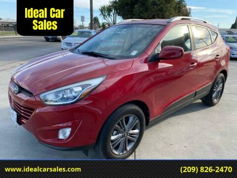 2015 Hyundai Tucson for sale at Ideal Car Sales in Los Banos CA
