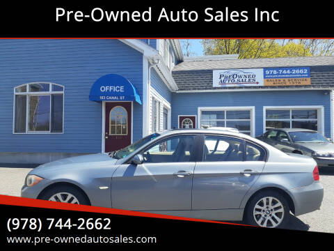 2007 BMW 3 Series for sale at Pre-Owned Auto Sales Inc in Salem MA