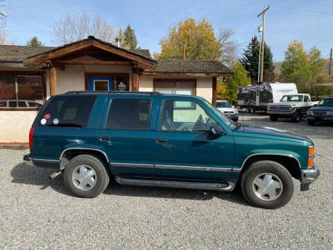 1998 Chevrolet Tahoe for sale at Sawtooth Auto Sales in Hailey ID