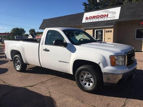 2009 GMC Sierra 1500 for sale at Gordon Auto Sales LLC in Sioux City IA