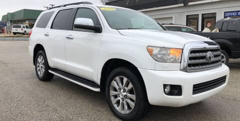 2008 Toyota Sequoia for sale at Perrys Certified Auto Exchange in Washington IN