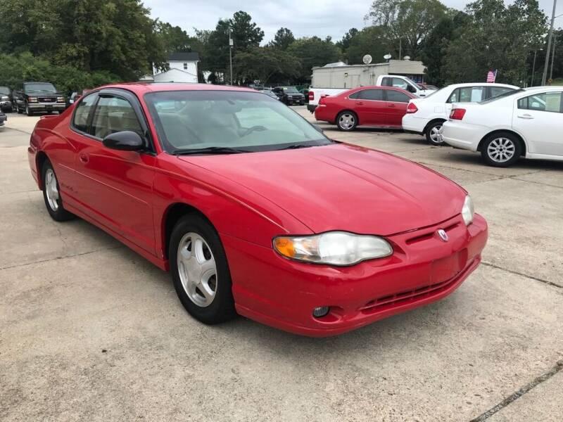 2003 Chevrolet Monte Carlo for sale at Ridetime Auto in Suffolk VA