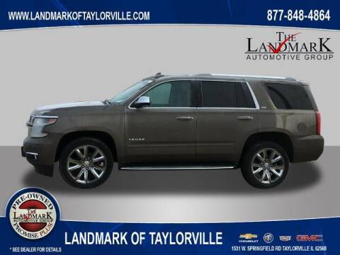 2016 Chevrolet Tahoe for sale at LANDMARK OF TAYLORVILLE in Taylorville IL