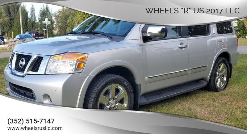 "2011 Nissan Armada for sale at WHEELS ""R"" US 2017 LLC in Hudson FL"