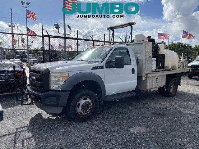2011 Ford F-550 Super Duty for sale at Jumbo Auto & Truck Plaza in Hollywood FL