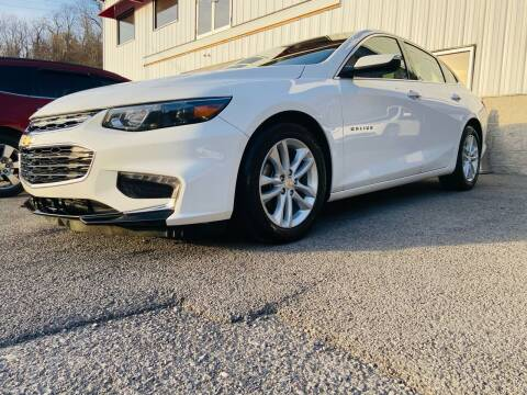 2018 Chevrolet Malibu for sale at Bailey Brand in Clarksburg WV