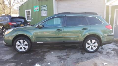 2011 Subaru Outback for sale at ALL Motor Cars LTD in Tillson NY