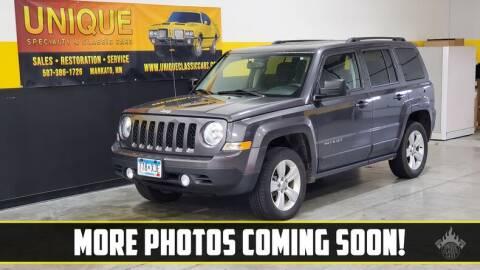 2017 Jeep Patriot for sale at UNIQUE SPECIALTY & CLASSICS in Mankato MN