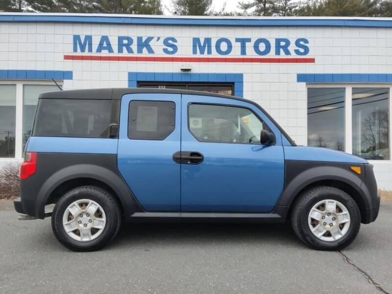 2008 Honda Element for sale at Mark's Motors in Northampton MA